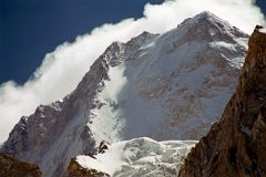 Gasherbrum IV Summit Close Up From Upper Baltoro Glacier On Trek To Shagring Camp